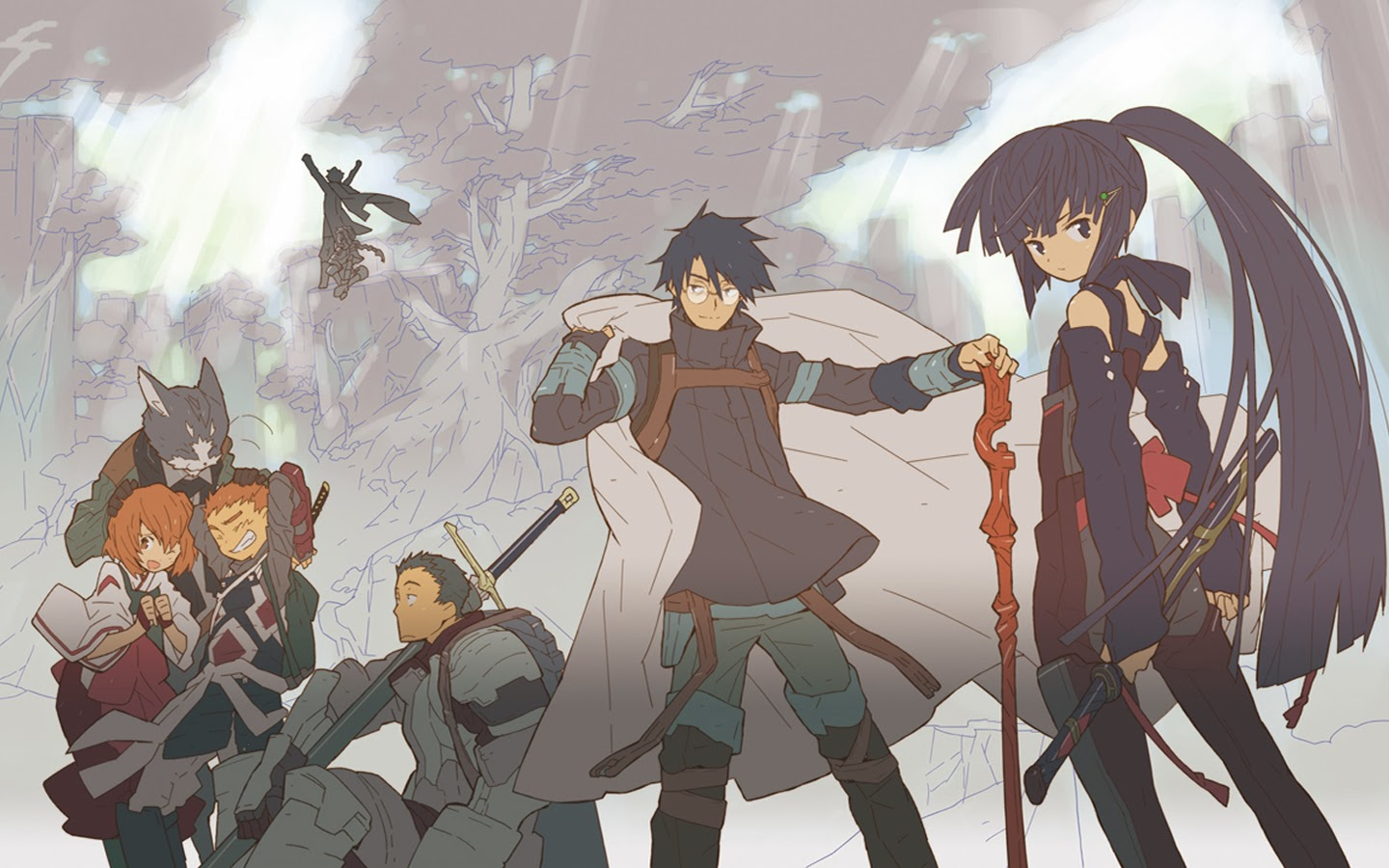 Fragglepuss Anime Review 5 Log Horizon With Expanded Review From