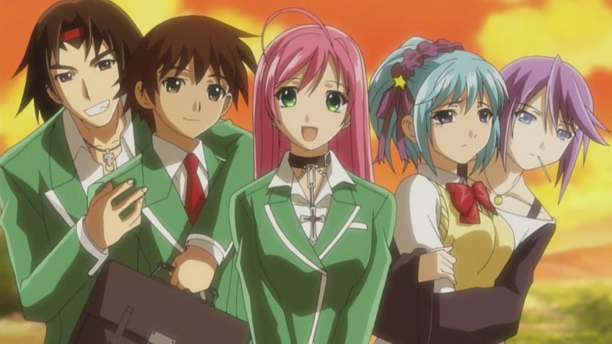 Anime De Rosario Vampire fragglepuss anime review 126.2: rosario + vampire capu2
